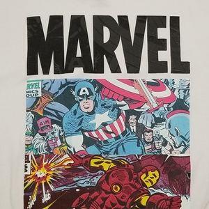 {Marvel} Avengers White Tshirt